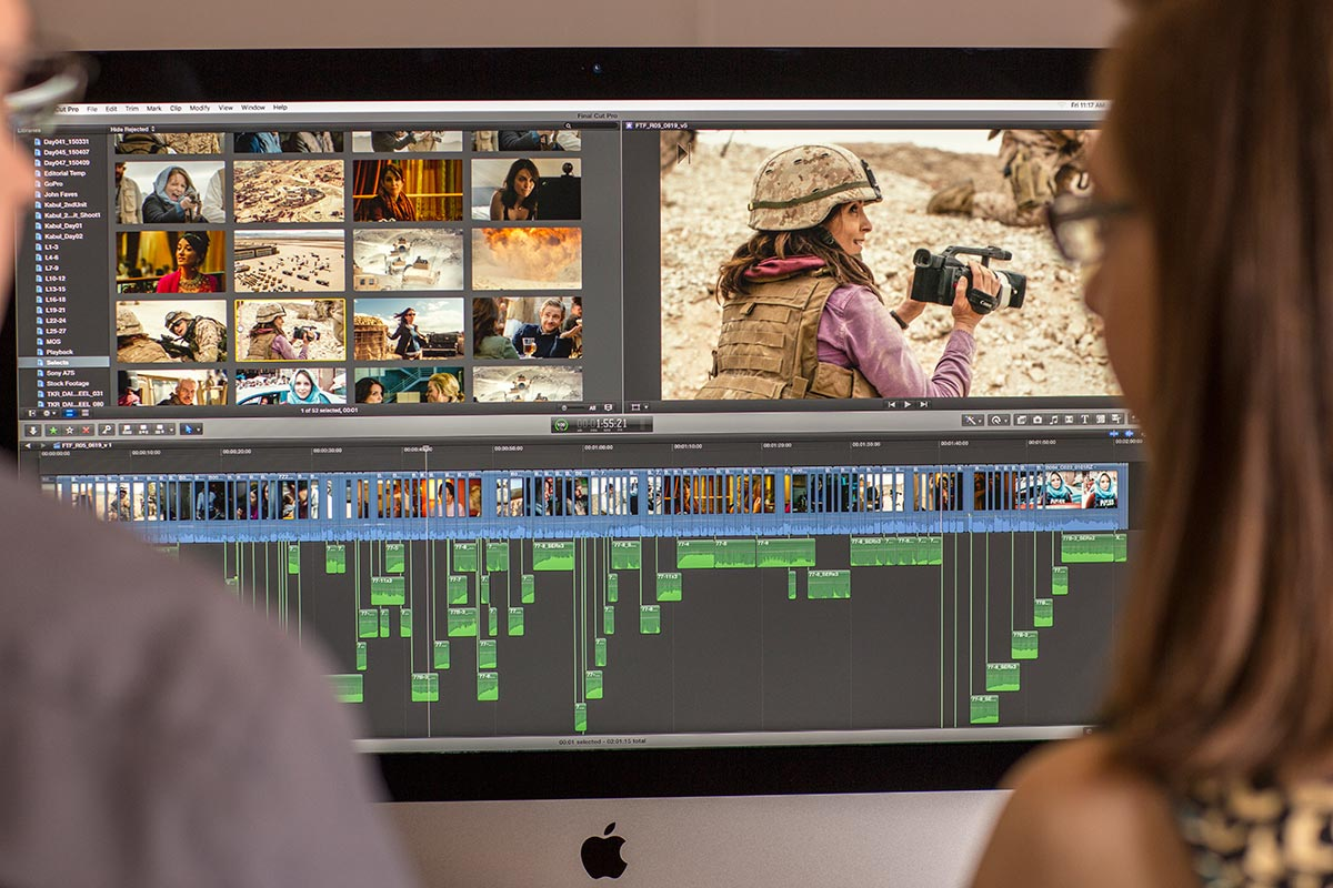 Whiskey Tango Foxtrot: Developing and Deploying the Film's